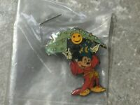 DISNEY PIN SORCERER MICKEY WITH SMILEY FACE (GIFT) PROPIN LIMITED EDITION