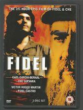 FIDEL - Gael Garcia Bernal / Victor Huggo Martin - UK DVD - vgc - FIDEL CASTRO