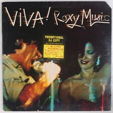 ROXY MUSIC: Viva! USA ATCO SD 36-139 Orig Promo Vinyl LP NM- Wax