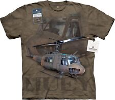Huey Helicopter T Shirt Adult Unisex The Mountain