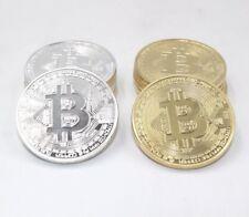 Limited Edition Original Bitcoin Commemorative Collectors Btc Metal Gold/Plated