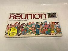 NEW REUNION Brings People Together Vintage 1979 Family Board Game Complete