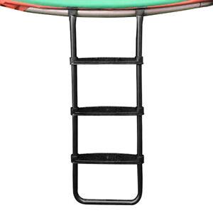 Jump Tastic Trampoline Ladder -- Universal 3 Wide-Step Ladder for Kids