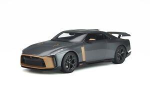 1/18 GT Spirit Nissan GT-R 50 by Italdesign in Matt Gray and gold GT300
