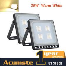 New listing 20W Led Flood Light Spotlight Outdoor Waterproof Warm White Garden Yard Lighting