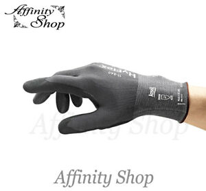 Ansell Hyflex Gloves Abrasion Resistant Fortix 11-840 Work Safety Glove AS/NZS