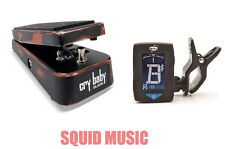 Dunlop Slash Cry Baby Classic Wah Pedal SC95 ( FREE CLIP ON GUITAR TUNER )