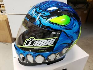 ICON Airform Helmet Manik'R - Blue - XL