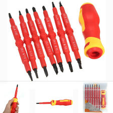 7Pcs Multi-purpose Electrician's Insulated Electrical Hand Screwdriver Tool Set