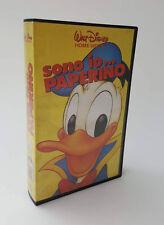 VHS Sono io... Paperino Home Video WALT DISNEY edizione Marzo 1990 45 Min.