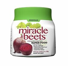 Miracle Beets Concentrated 30 Servings Super Food Crystals Healthy 5.3 Ounce