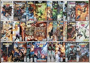 EARTH 2 0 1-32 ANNUAL 1 NEW 52 RUN SET 25 26 VAL-ZOD SUPERMAN 2012 NM 1OWNER LOT