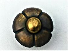 Antique Hardware French Provincial Drawer Pull Flower Knob Cabinet Brass