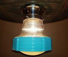 Antique/Vtg 40's 50's Art Deco Retro Original Shop Diner Ceiling Light Fixture