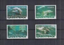 W442. Samoa - MNH - Marine Life - Dolphins - Greenpeace