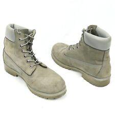 Lugz Outlook Hi MOUTLKHD-0120 Mens Gray Nubuck Faux Suede Casual Dress Boots 10