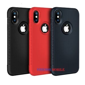 Case For iPhone SE 2 XR XS MAX X 8 7 6 Plus Shockproof hard Silicone Cover