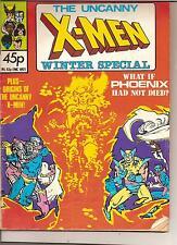 X-MEN WINTER SPECIAL COMIC WHAT IF PHOENIX HAD NOT DIED ? RETRO 80S