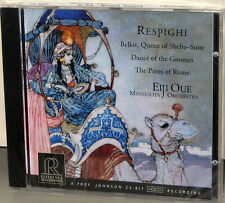 Reference Recordings RR-95CD: Respighi - Belkis, Sheba, etc. - Oue - 2001 USA SS
