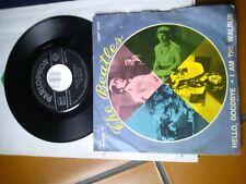 "7"" BEATLES HELLO GOODBYE I AM THE WALRUS QMSP 16415 1967 ITALY EX"