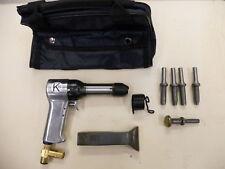 Rivet Gun Kit w/ 3x rivet Gun  Bucking Bar Rivet Sets and Tool Pouch BRAND NEW