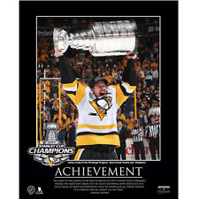 Sidney Crosby Large Motivator 2017 Stanley Cup Plaque