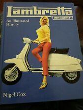 Livre Scooters : LAMBRETTA INNOCENTI - An illustrateur History - NIGEL COX .