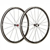 Vision TriMax 35 alloy Clincher Wheelset 16/21H-700c Clincher Black