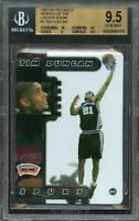 1997-98 pro mags heroes locker room #2 TIM DUNCAN rookie (POP 1) BGS 10 10 9.5