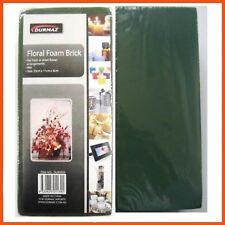 24 X Green Floral Foam Brick 23x11x8cm | Flower Arranging Florist Block Holder