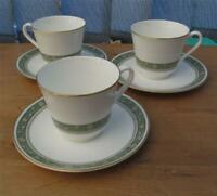 Royal Doulton Rondelay  Tea Cups & Saucers  set of 3    £19.99 (Post Free UK)