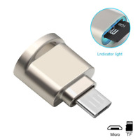 Micro USB OTG Android Phones Memory Card Reader Adapter For TF Micro SD Card 1Pc