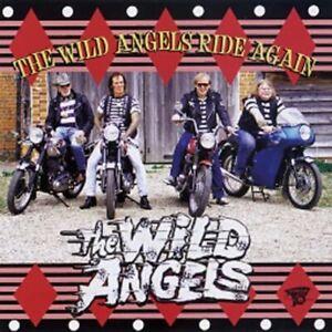 WILD ANGELS Ride Again CD - NEW - Teddyboy, British Rock 'n' Roll, Rockabilly