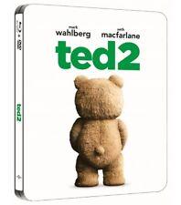 TED  2 blu ray Steelbook ( Korea ) ( NEW ) Region Free - English Audio