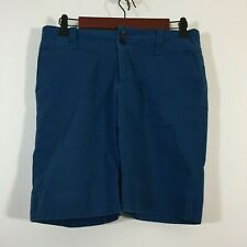 Banana Republic Shorts Women Size 4 Blue Bermuda