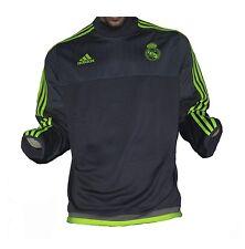 Real Madrid Trainingstop Sweatshirt Grey 2015/16 Adidas XL