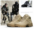 Mens US Special  Desert Combat Army Shoes Forces Military Tactical Ankle Boots