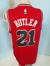 Chicago Bulls Jimmy Butler 21Jersey Authentic Adidas Stitched Front & Back Sz M