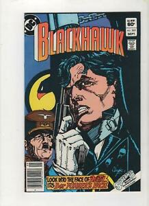 Blackhawk #262 Hitler Cover, Newsstand, FN/VF 6.5, 1st Print, 1983, See Scans