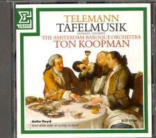 TELEMANN - Tafelmusik - Ton KOOPMAN / The Amsterdam Baroque Orchestra - Erato