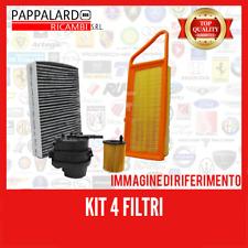 Kit TAGLIANDO 4 FILTRI MISTI FORD FIESTA V 1.4 TDCI 50KW 68CV DAL 2001