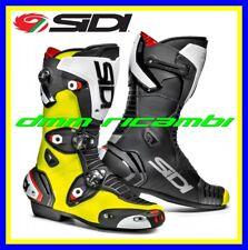 Stivali Moto Racing SIDI MAG-1 Tg.43 Nero/Giallo Fluo strada sportivi Scooter