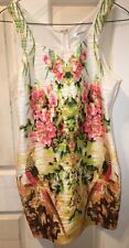 VALLEYGIRL BODYCON FLORAL DRESS(L-12). FEMININE AND PRETTY, GREAT COND