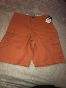 New With Tags POLO Ralph Lauren Boys Cargo Shorts OrangeSize 7