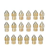 BRASS Fits Mk8 Mk9 FT5 Anet a6 /& a8 0.4mm 3D Nozzle ** USA STOCK ** 3-PACK