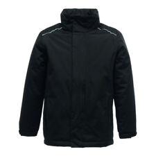 """Regatta Rg251 Junior Classic School Jacket Kids Waterproof Polyester Hoodie Suit Black 32"""""""