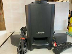 Bose CineMate Digital Home Theater Speaker System -Complete /w Remote -TESTED