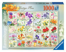 Vintage flore 1000 piece puzzle ravensburger