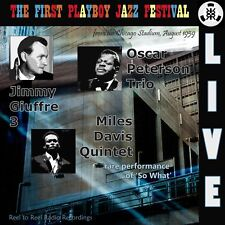 Oscar Peterson Miles Davis Jimmy Giuffre Live at the 1st Playboy Jazz Festival
