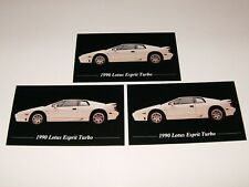 ★★3-1990 LOTUS ESPRIT TURBO PHOTO MAGNETS 90 89 88 87★★